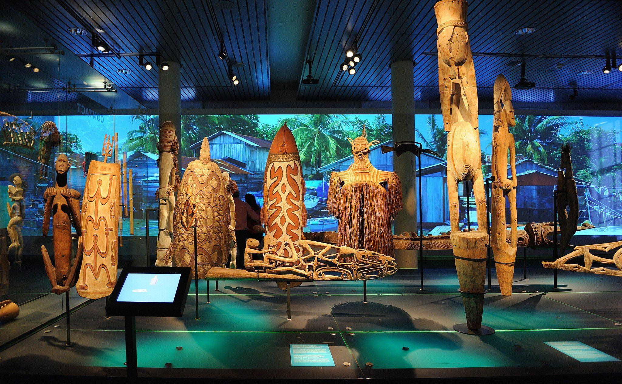 荷兰莱顿民族学博物馆的大洋洲艺术