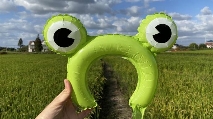 """""""小青蛙""""們走出教室,回歸田間,講述大自然的故事"""