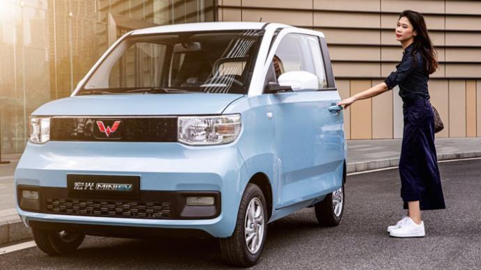 9月新能源车销量翻番,五菱宏光电动车超特斯拉夺冠