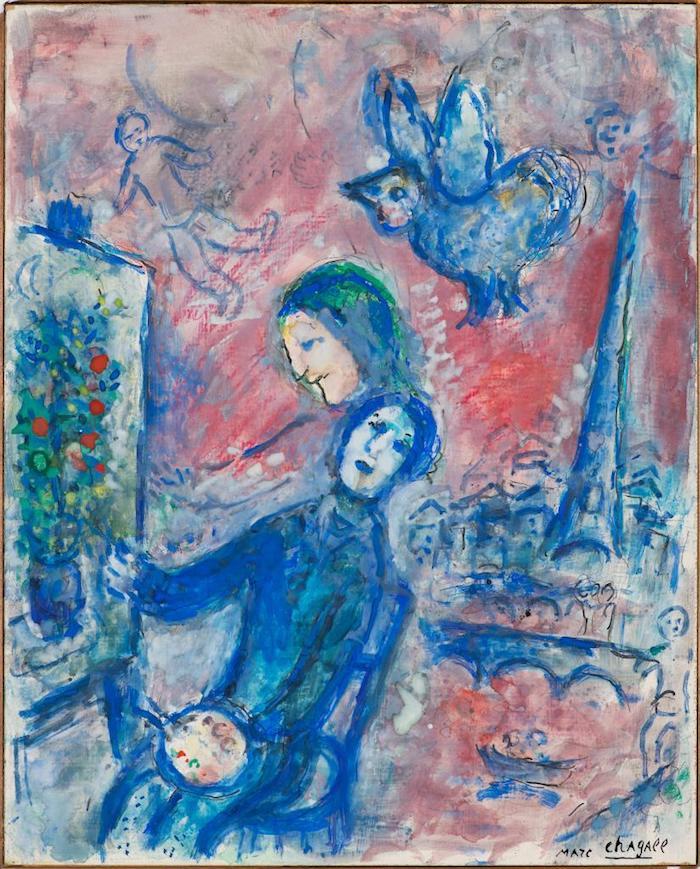 夏加尔 《灵感1978》