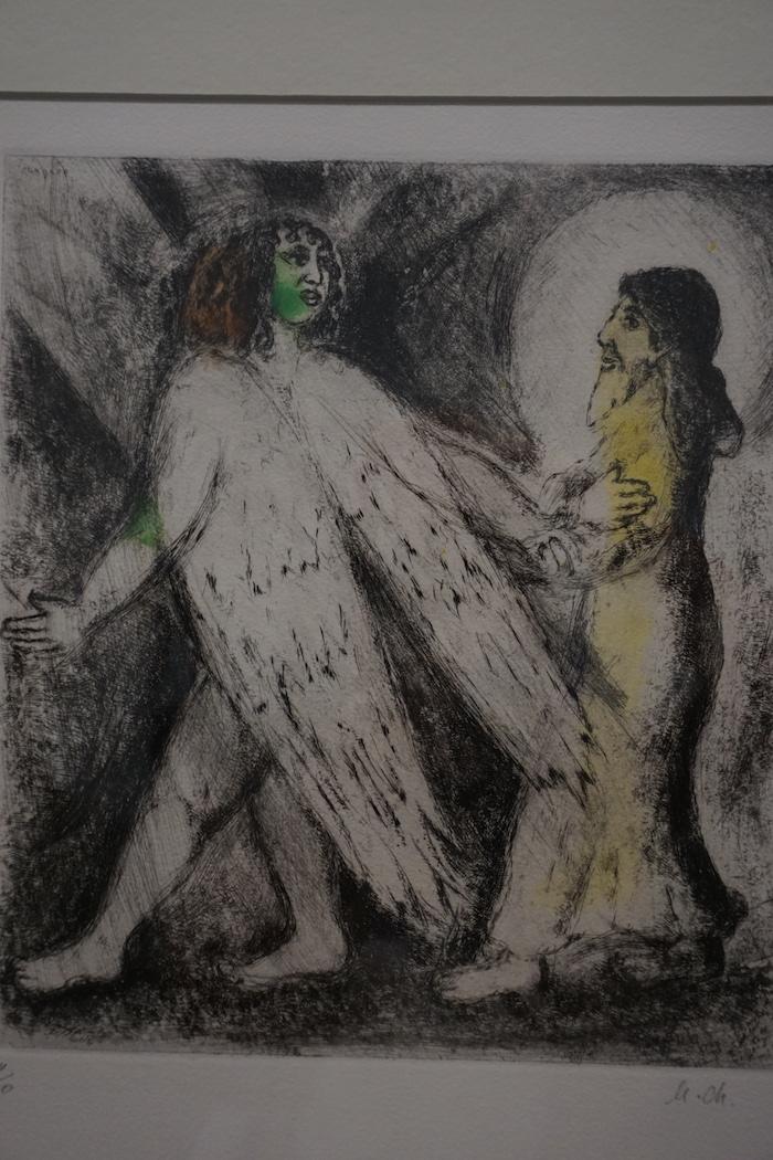 夏加尔的圣经系列绘画