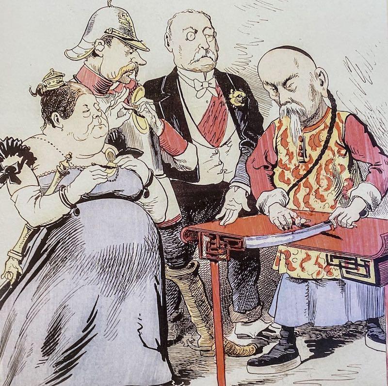 李鸿章将自己的辫子一截一截切下,分送英国女王、法国总统和德国皇帝