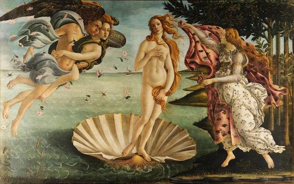 波提切利,《维纳斯的诞生》