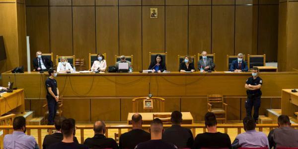 10月7日希腊法院裁定金色早晨党为作恶机关
