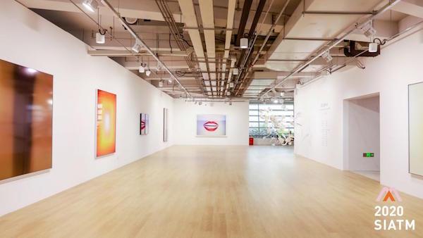 """Art Tower遇见香格纳""展览现场,西岸艺岛 Art Tower,上海,2020"