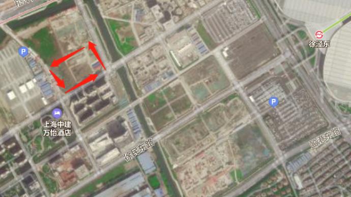 上海虹桥商务区主城区挂牌一宗商办地,需引入快递公司总部
