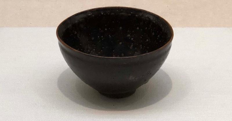 濑户窑天目茶碗,十四世纪,爱知县陶磁美术馆藏