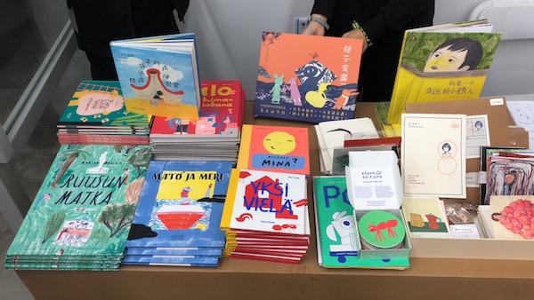 上海童书研究中心展位