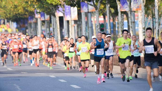 上海10K精英赛开跑,上马也在准备中!跑赛复苏背后不简单