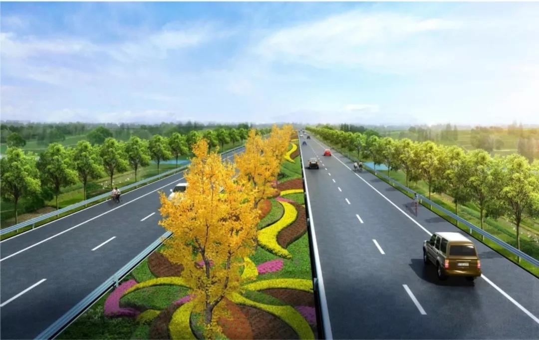 叶新公路效果图