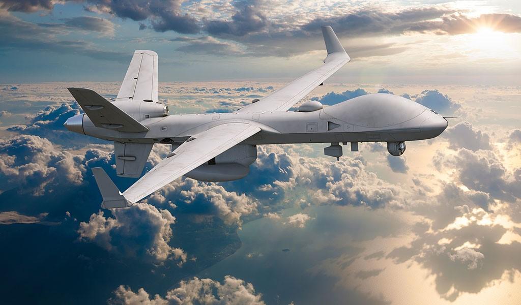 """MQ-9B""""海上卫士""""无人机。"""