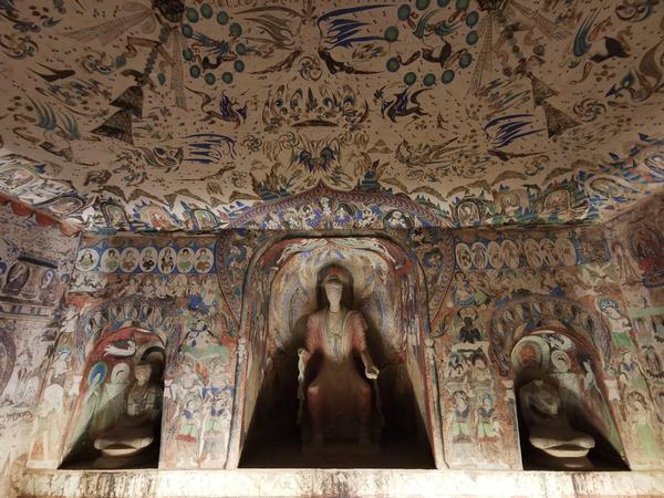 敦煌展厅复制洞窟