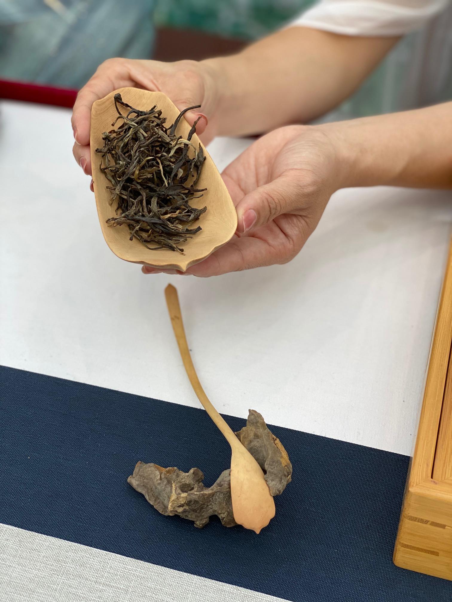 五爷茶叶澎湃新闻记者 俞凯 图