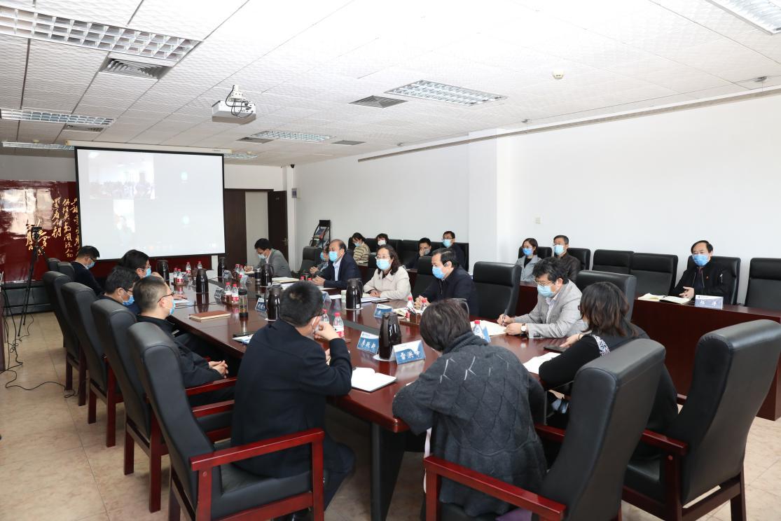 10月15日,中央财经大学党委全委会扩大会议在办公楼605会议室召开。 中央财经大学官网 图