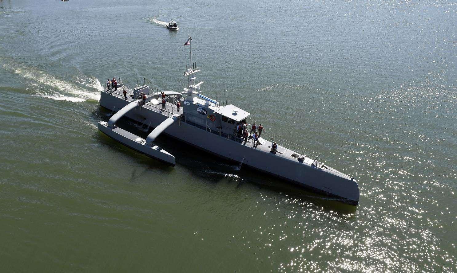 """""""500艘战舰""""扩容计划重点是增加无人舰艇的数量。"""