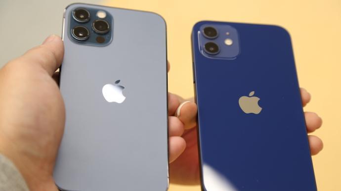 iPhone12到底有多蓝?摸了真机的人告诉你