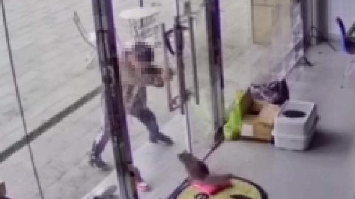 南京一店铺内小猫遭路过男孩虐打,店主要求家长书面道歉被拒