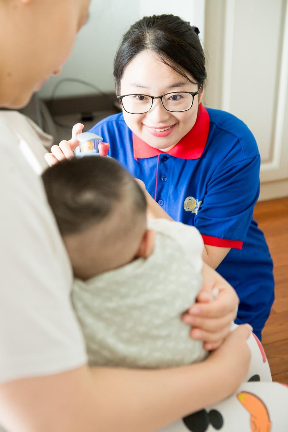 刘洋。 本文图片上海市妇联提供