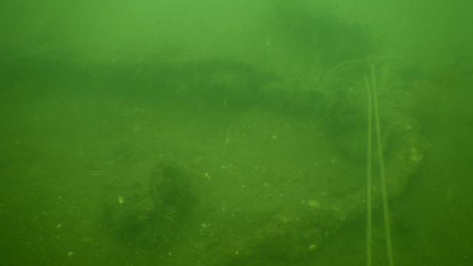 青岛胶州湾外围海域水下考古确认一处一战时期的大型沉舰遗址