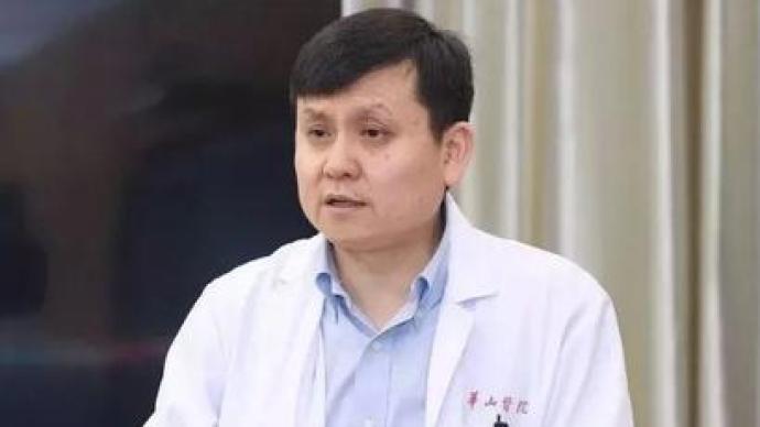 张文宏:新冠肺炎病毒二次感染目前还不构成一个科学问题