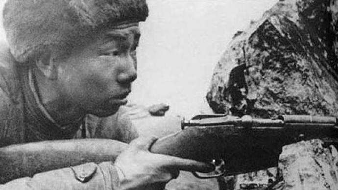 志愿军神枪手张桃芳:442发子弹毙敌214人