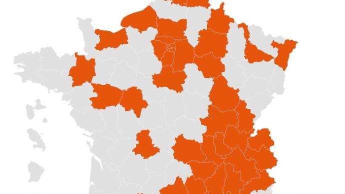 法国将宵禁范围扩大至本土54省及法属波利尼西亚