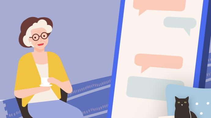 一圖看懂《老年人互聯網生活報告》:別讓手機陪伴父母過晚年
