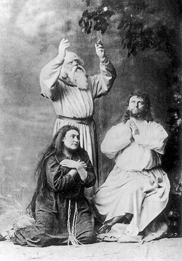 1882年7月26日拜罗伊特首演《帕西法尔》