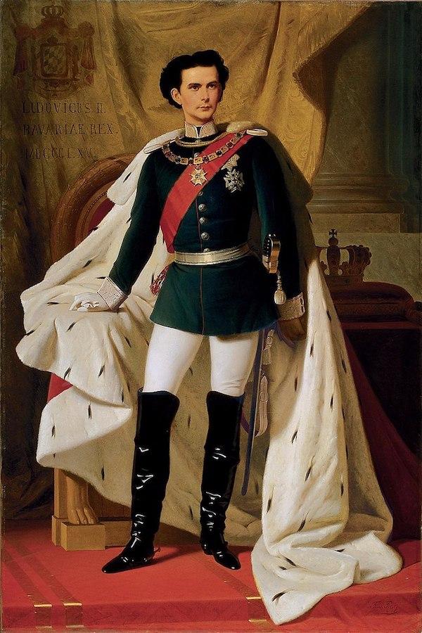 路德维希二世加冕肖像