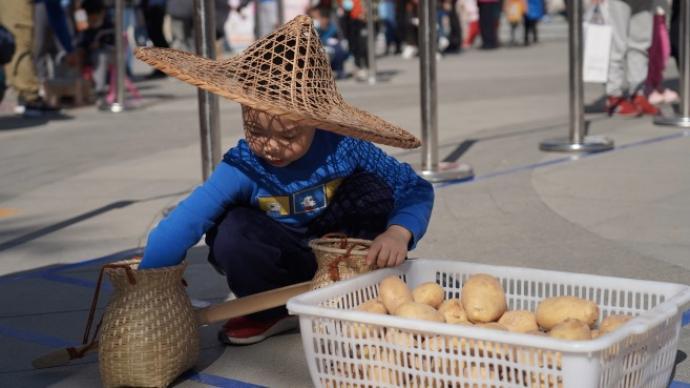 """""""勞動美·豐收樂""""公益活動在京舉辦,引導兒童弘揚勞動精神"""