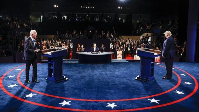 2020美國大選終場辯論:特朗普拜登針鋒相對,疫情是關鍵詞