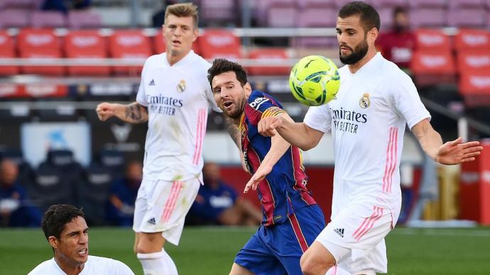 體壇聯播|國家德比皇馬勝場超巴薩,梅西6場世紀大戰不進球