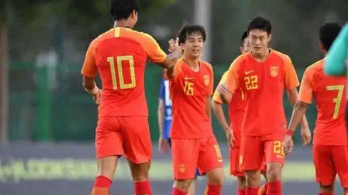 中國U19男足首次亮相中乙聯賽,首戰1:2遭絕殺