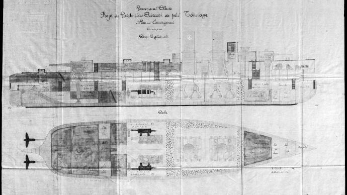 船坚炮利︱未展的雄心:甲午战后福建船政的岸防铁甲舰计划