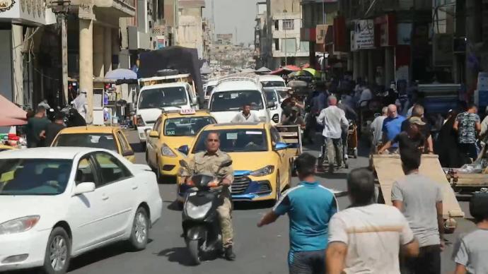 伊拉克确诊病例超45万,巴格达疫情最严重