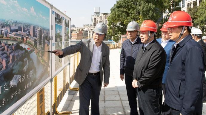 提升黃浦江蘇州河濱水公共空間和市容環境,龔正調研這些網紅打卡點
