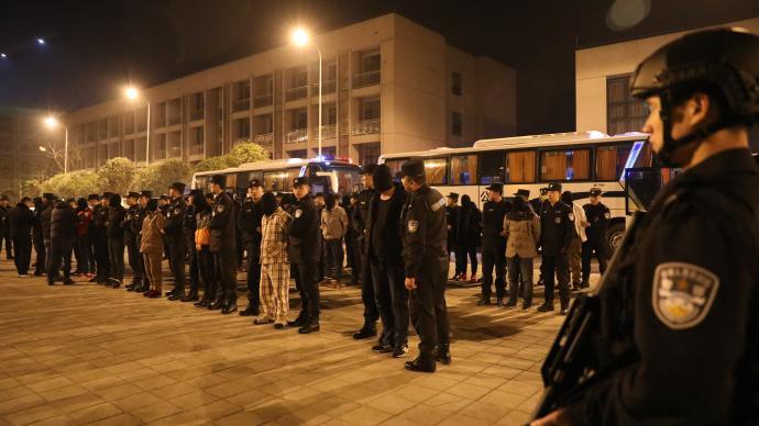 重庆警方摧毁2个特大跨境绑架勒索犯罪集团,解救人质7名