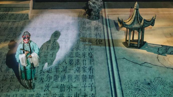 """瑜音閣上演《夢影·牡丹亭》,光影中隨湯顯祖澳門""""尋夢"""""""