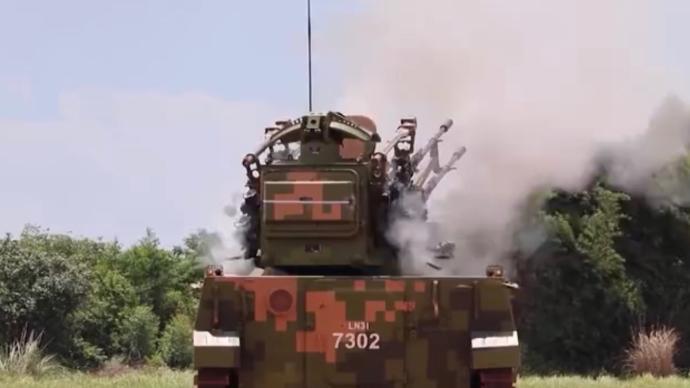 視頻丨烎烎烎!解放軍在廣東演練新型防空武器