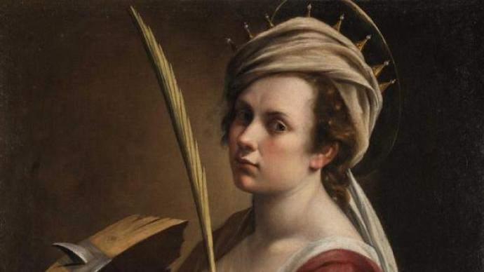 """英国国家美术馆展""""阿尔泰米西娅"""",自画像里的女性精神"""
