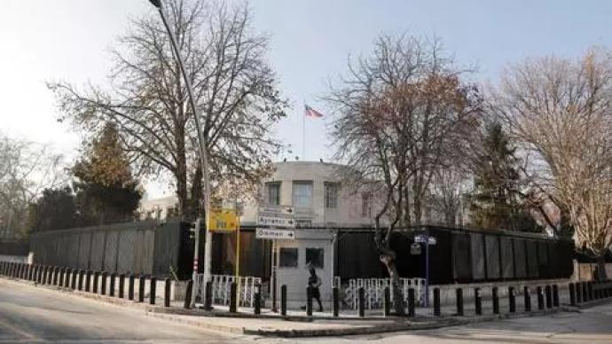 外媒:美國駐土耳其大使館稱收恐襲報告,暫停簽證服務