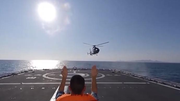 海軍高難度訓練!檢驗艦載機和艦艇在不同條件下連續起降能力