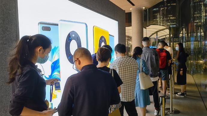 華為Mate40今晚開售:電商秒光,比iPhone還難搶