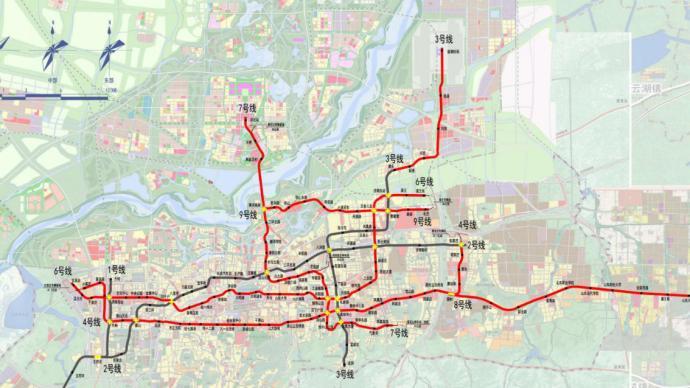 濟南軌交二期建設規劃獲批:6條線路共159.6公里