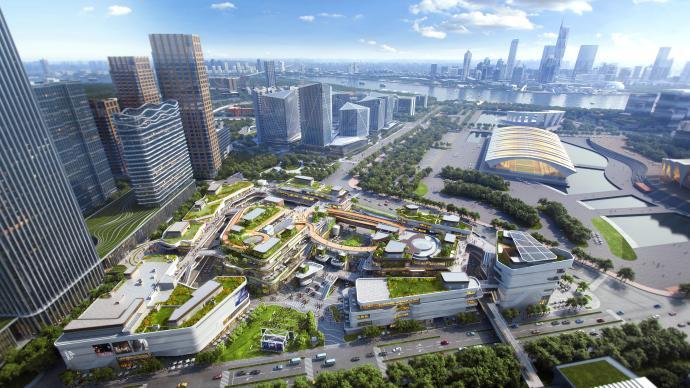上海前滩太古里预计2021年开业,未来商业不只是买买买
