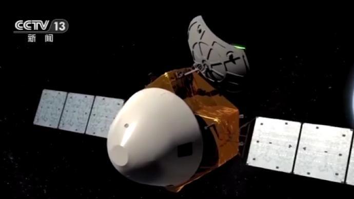 央视揭秘:天问一号如何稳稳地抵达火星?