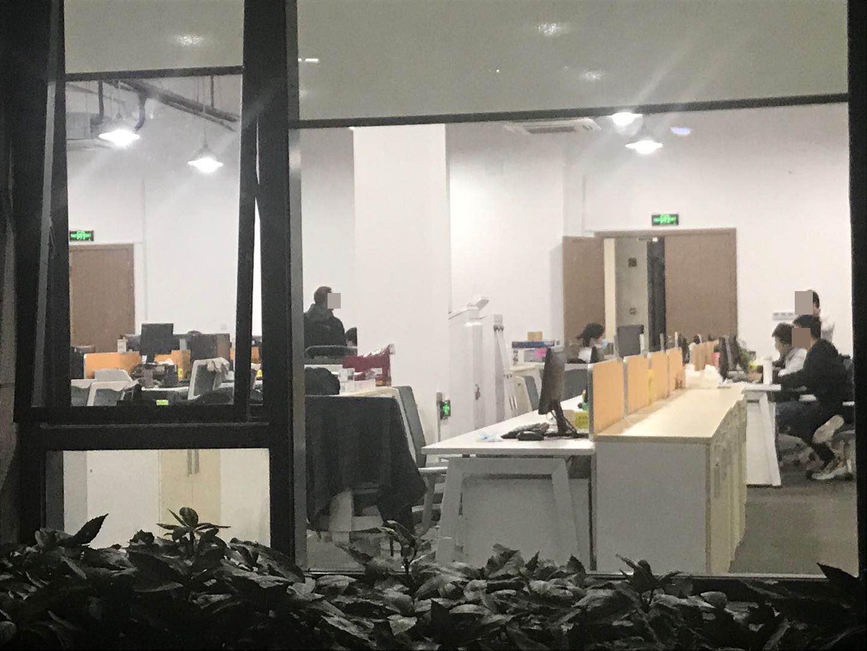 10月29日晚上,常熟农商银行金融科技总部登上热搜,但员工如常加班。 澎湃新闻记者 邱海鸿 图
