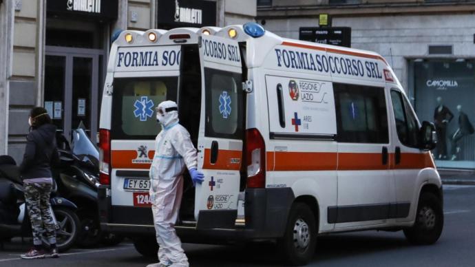 意大利新增31758例确诊病例,累计确诊679430例