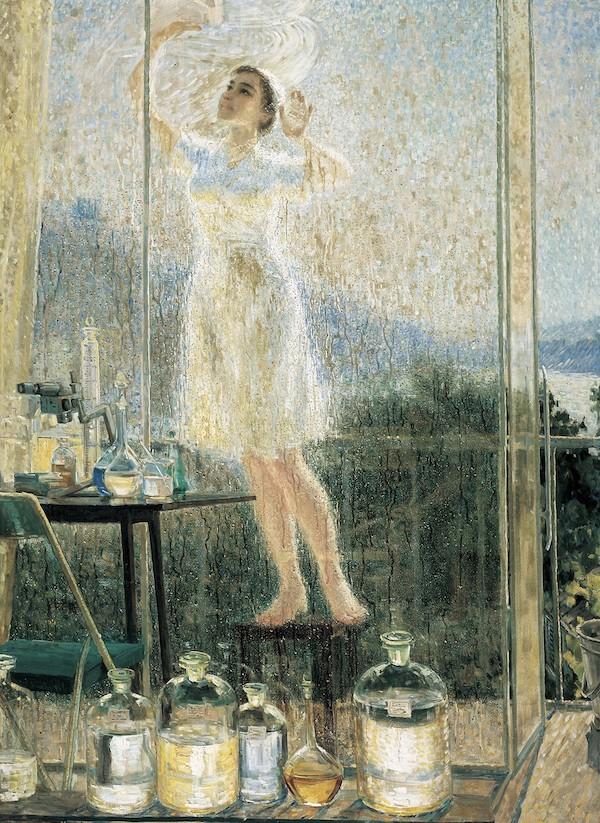 王大同 《雨过天晴》 油画 160x112cm 1979年