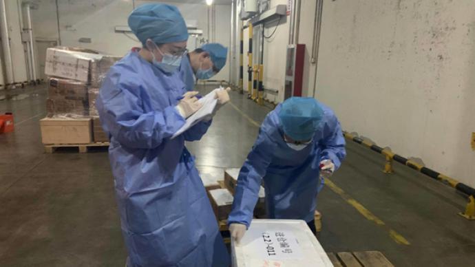 進博會進口冷鏈食品倉庫探營:接觸展品的人全部核酸檢測